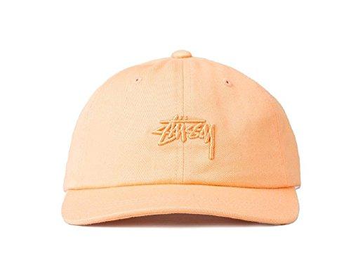 Stussy Men's Stock Logo Low Cap, Pink, One Size (Best Low Cap Stocks)