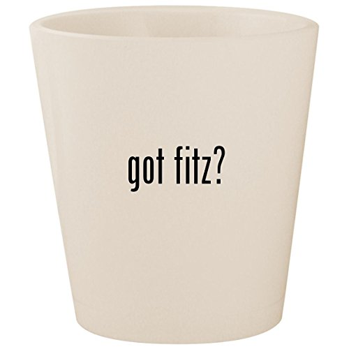 got fitz? - White Ceramic 1.5oz Shot ()