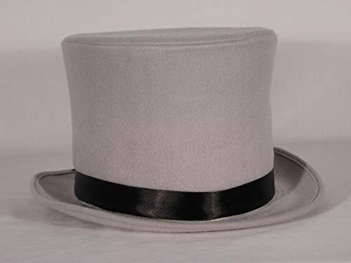 HMS Men's Sim Wool Bell Topper Hat, Grey, One -