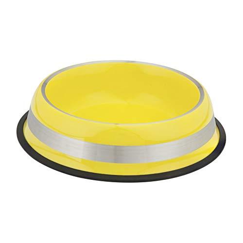 Comedouro Kumar Colorbrig para Cães Amarelo - 1 litro