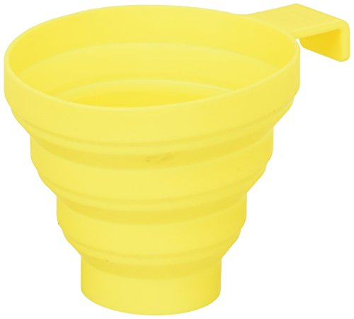 Lamson Collapsible Funnel, Yellow, Silicone, Large by Lamson