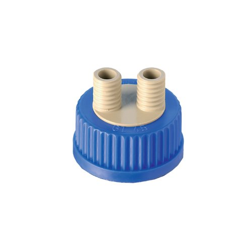 DURAN 11 562 92 Connection System Screw Cap GL 45 with Two or Three Port (Pack of 2) Duran Group GmbH