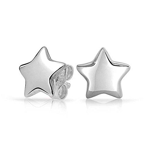 Bling Jewelry Patriotic Star Stud Earrings 925 Sterling - Tiffany N Co