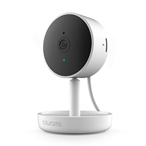 Indoor Security Camera, Blurams Home Pro IP Camera 1080p FHD | w/Facial Recognition, 2-Way Audio, Night Vision, SD Storage, Works with Alexa, Google Home, IFTTT