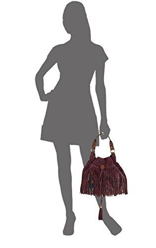 Leather Handbag Womens Edelman Patter Sam Hobo Port Tyra Wine 4wOZF