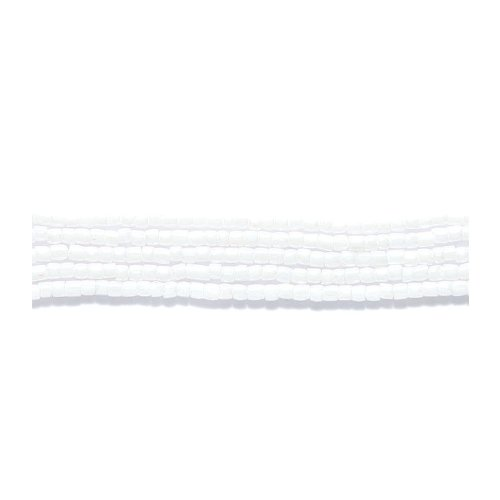 Preciosa Ornela Czech 3-Cut Style Seed Glass Bead, Size 9/0, Luster Opaque ()
