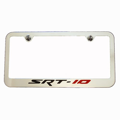(Dodge Viper RAM SRT10 SRT-10 Chrome License Plate Frame)