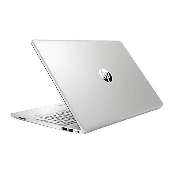"HP 15 Thin & Light 15.6"" (39.62cms) FHD Laptop (11th Gen Intel Core i5-1135G7, 8GB DDR4, 256GB SSD + 1TB HDD, Win 10 Home, MS Office, 2GB MX350 Graphics, FPR, Natural Silver, 1.76 Kg), 15s-du3047TX"