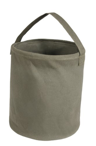 (Rothco Large O.D. Canvas Water Bucket)