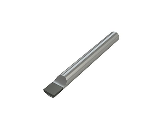 Micro 100 TRG-4 Brazed Boring Bar, Tool Dimension of 3'' Length, 3/16'' Width, 5/16'' Height, Tip Dimension of 3/32'' Thick, 5/16'' Width,3/8'' Length by Micro 100
