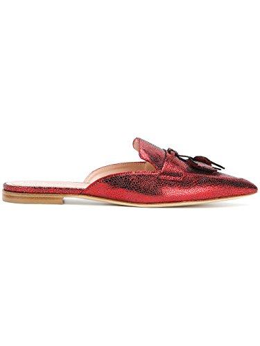 clearance online fake cheap shop offer Alberta Ferretti Women's V66018002V0112 Red Leather Sandals xtrpfwtZf