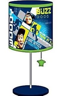 Disney Buzz Lightyear Space Crane Lamp Light Boys - Desk Lamps ...:Disney Toy Story Table Lamp - Buzz Lightyear & Woody - 16