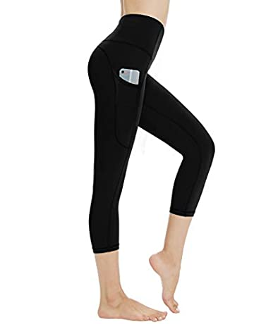 8fc988ff657658 Dragon Fit High Waist Yoga Leggings with 3 Pockets,Tummy Control Workout  Running 4 Way