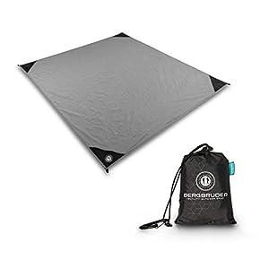 31D9fk3y WL. SS300 BERGBRUDER Nylon Picknickdecke im Hosentaschenformat - Wasserdicht, Ultraleicht & kompakt - Ground Sheet, Pocket Blanket…