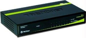 Tren Inc 8-Port Gigabit Greennet Switch (Metal) - By