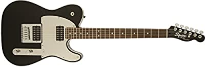 Squier by Fender John 5 Telecaster Electric Guitar, Black by Squier by Fender