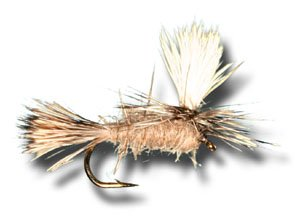 - Parachute Hare's Ear Fly Fishing Fly - Size 16 - 6 Pack