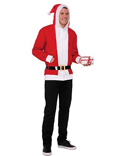Forum Novelties North Pole Simply Santa Hoodie (Large)]()
