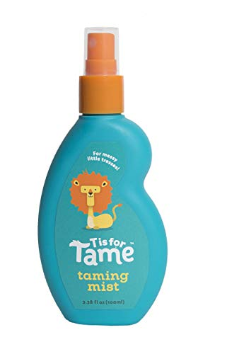T is for Tame | 100% Natural Hair Taming Spray | Baby, Toddler & Up | Chemical Free | Jojoba and Coconut Oil