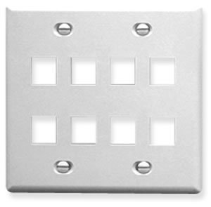 Icc Face (ICC - IC107FD8WH - 8 Port Face White)