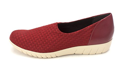 Munro Womens Cruise Low Top Pull On Fashion Sneakers, Red, Size (Munro Shoes Women)
