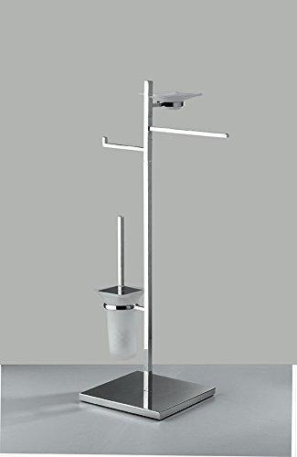 combinato wc bidet porta sapone altezza 85 cm base 25 x 25 cm accessori wc