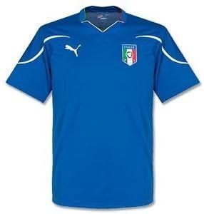PUMA Italia Home Supporters Camiseta 2010 2011, Azul Royal, XX-Large: Amazon.es: Deportes y aire libre