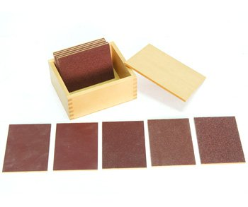 Montessori Touch Boards with Box