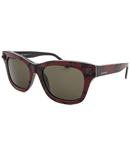 Sunglasses VALENTINO V 670 SC 638 CAMOU - Valentino Sunglasses Red
