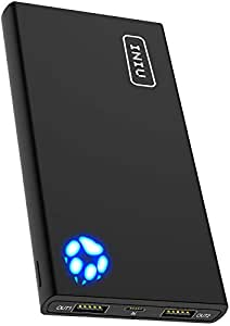 299fda7c0e8a6 Amazon.com: INIU Portable Charger, 10000mAh Power Bank, High-Speed 2 ...