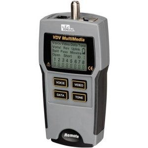 Ideal 33-856 Vdv Multimedia Cable Tester