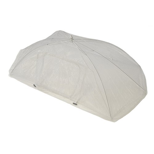 Not In My Backyard NB0017 Tabletop Food Tent with Access Door/Rectangle, 48.1 x 24.02 x 14.37, White by Not In My Backyard