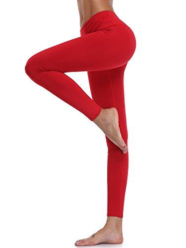 Cadmus Women's High Waist Workout Running Leggings for Yoga with Inner Pocket
