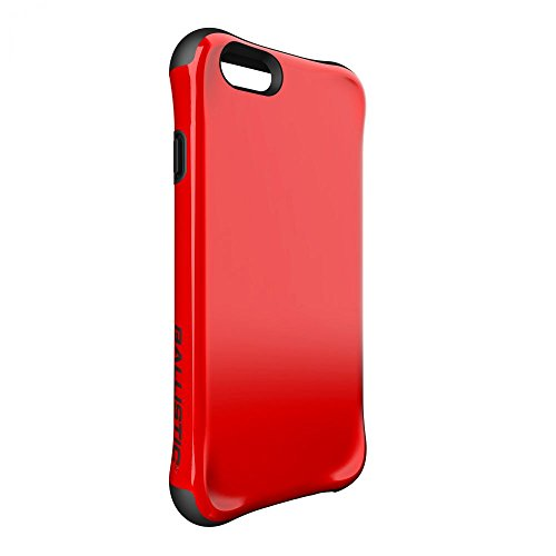 Ballistic, iPhone 6 Case / 6s Case [Urbanite] Six-Sided - 6ft Drop Test Certified Case Protection [Red] Reinforced Bumper Cell Phone Case for iPhone 6 / 6s - Red