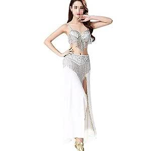 Falda de baile de las mujeres Traje de mujer Chiffon Dance Big ...