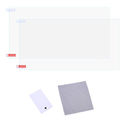Case Star Anti-Scratch Screen Protector Protective Film For Nintendo Switch 2017 (Pack of 2 - Anti-Glare Finished)