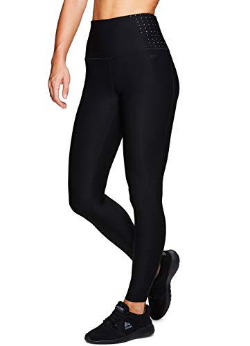 Maroon Core Pants - RBX Active Women's Body Contouring High Waisted Athletic Performance Leggings,Black/Grey,Medium