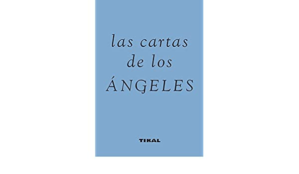 Cartas De Los Angeles Tela - Azul Las Cartas De Los Ángeles ...