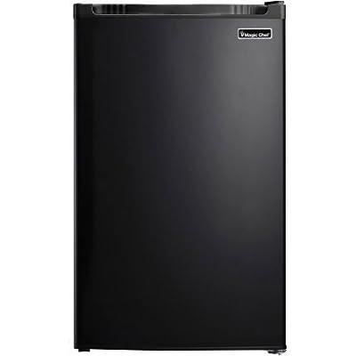 Magic Chef Crisper Drawer 4.4-cu. ft. Refrigerator, Black
