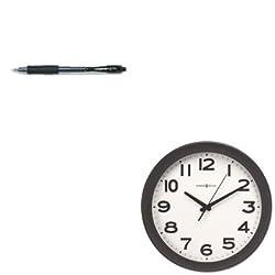 KITMIL625485PIL31020 - Value Kit - Howard Miller Kenwick Wall Clock (MIL625485) and Pilot G2 Gel Ink Pen (PIL31020)