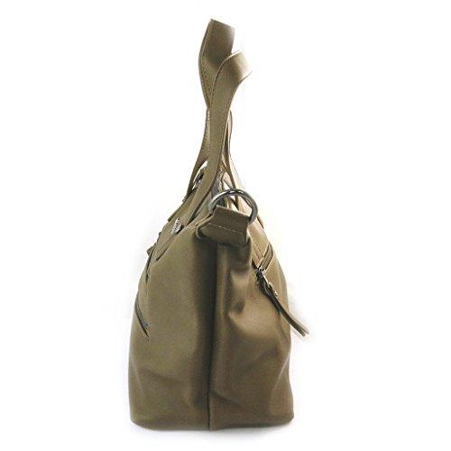 Tabacco 'lulu 5x24x13 5 27 Designer Castagnette'marrone Cm Bag qPxt8zw