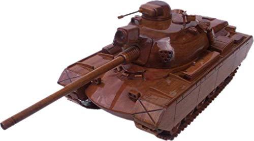 M48 Patton Tank Mahogany Wood Desktop Model ()