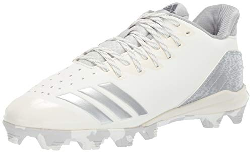 adidas Icon 4, Cloud White/Silver Metallic/Grey 4.5 M US Big Kid by adidas (Image #1)