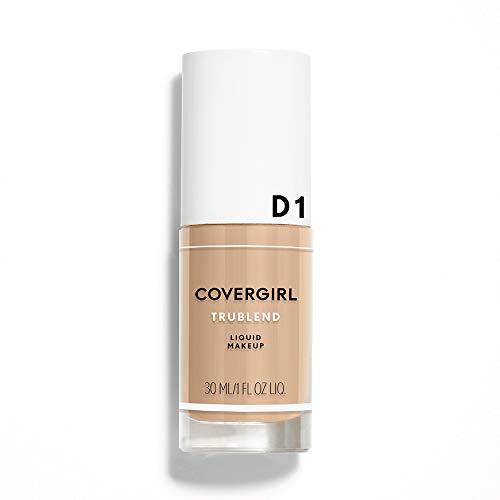 (COVERGIRL truBlend Liquid Foundation Makeup Caramel Beige, 1 fl oz (30 ml) (packaging may)