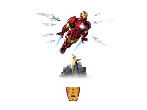 Uncle Milton - Iron Man Wild Walls - Light and Sound Room Decor]()