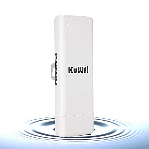 Wireless WiFi Access Point 150Mbps Outdoor CPE Router Waterproof Wireless Bridge Point to Point 2 KM Distance with WiFi Long...