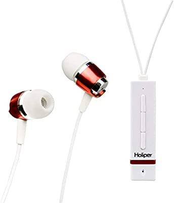 Holiper Auriculares Bluetooth con Micrófono, IPX5 Impermeable HiFi ...