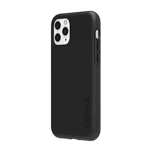 Incipio DualPro Dual Layer Case for Apple iPhone 11 Pro with Flexible Shock-Absorbing Drop-Protection - Black