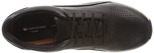 Cruise Femme Noir Black Lace Clarks Derbys Leather Un xZ8wn5