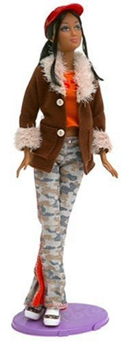 - Arco Toys Ltd Barbie Fashion Fever - Kayla Doll with Brown Suede Jacket